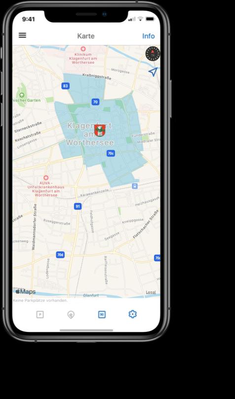 Applikation auf Mobiltelefon